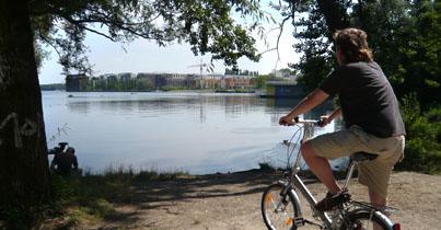 En af søerne i Berlin
