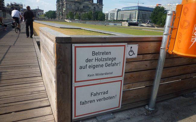 Grønne Parker i Berlin - og tilgængelig
