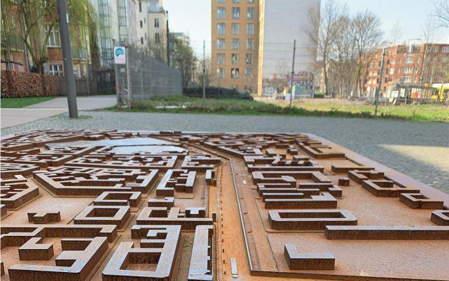 Arkitektur i Berlin - model
